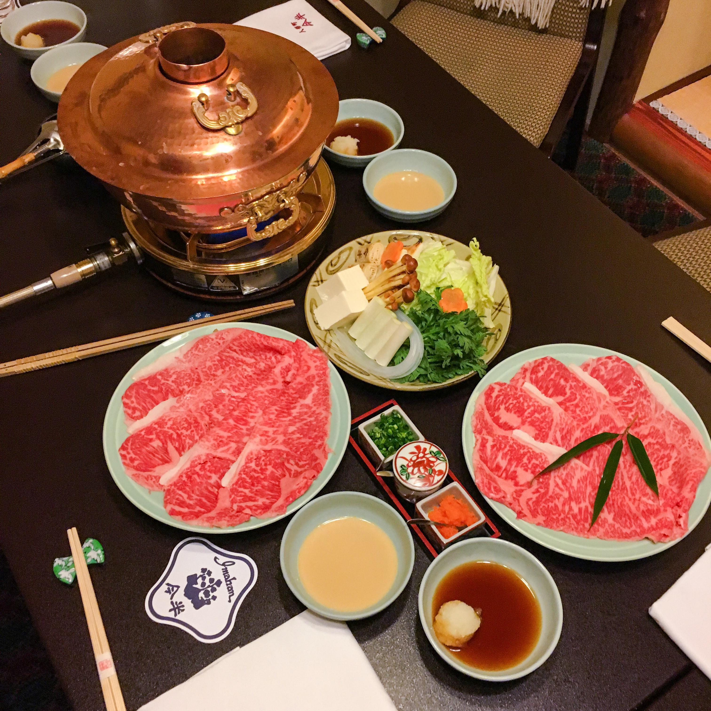Best Sukiyaki in Tokyo : Imahan – samchua.com